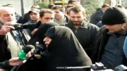 سخنان کوتاه مادر شهید سید علیرضا ستاری خطاب به سران فتنه