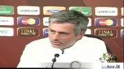 مصاحبه قبل از مسابقه فینال لیگ قهرمانان 2010 ژوزه مورینیو