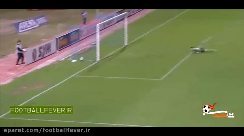 دو گل کریم انصاری فرد -بازی امروز پانینیوس در لیگ یونان