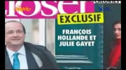 رسوایی اخلاقی رئیس جهور فرانسه با یک بازیگر زن خوشگل