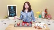سیب کاراملی هلو  کیتی
