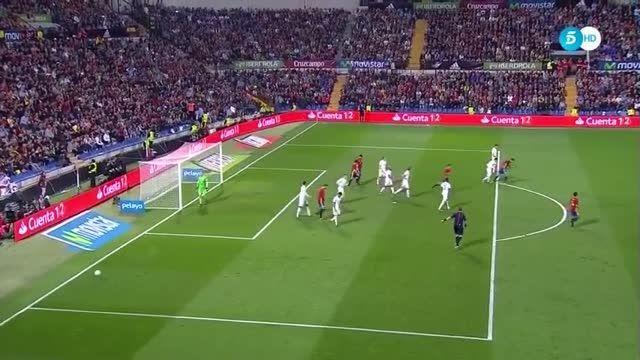 اسپانیا 2 انگلیس 1، خلاصه بازی