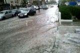 سیل در تهران امروز