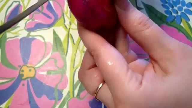 هنر میوه آرایی- هنرنمایی با تربچه