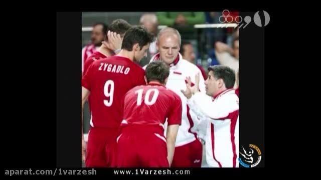 گزینه های هدایت تیم ملی والیبال ایران