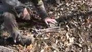 آموزش روشن کردن آتشی که با سرعت ملایم و مداوم می سوزد