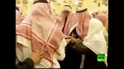 مراسم تشییع ملك عبد الله