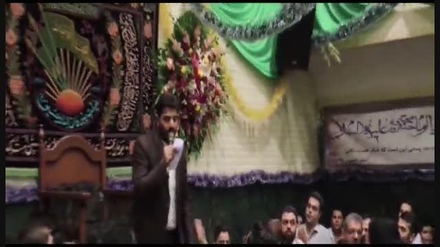 شب ولادت امام حسن-هیئت پیروان امام حسین-بهمنی وحامدخمسه