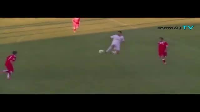 انزو زیدان پسر زین الدین زیدان در رئال مادرید ب