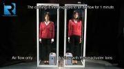 پلاسما کلاستر عامل کاهش الکتریسیته ساکن لباس ها و ژاکت ها