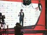 بدشانسی بازیگر مشهور کره ای روی فرش قرمز