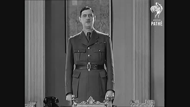 شارل دوگل خطاب به فرانسویان - 1940
