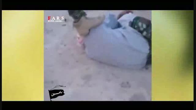 اسارت تک تیراندازهای داعش توسط نیروهای عراقی
