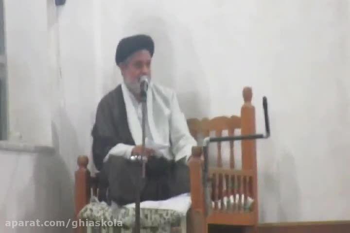 سخنرای حجت السلام کریمیان در شب اربعین