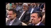 جوک ضرغامی در مورد احمدی نژاد