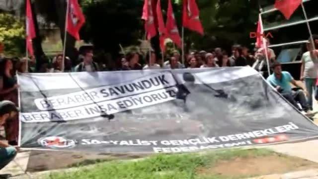 لحظه انفجار تروریستی در جنوب ترکیه + فیلم