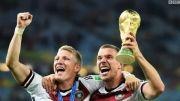 استقبال از تیم ملی فوتبال آلمان که جام را به خانه برد