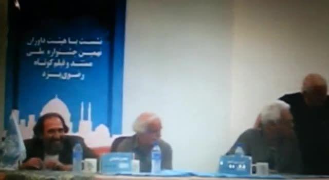 متلک بازیگر خردسال یزدی در جشنواره فیلم کوتاه رضوی 93