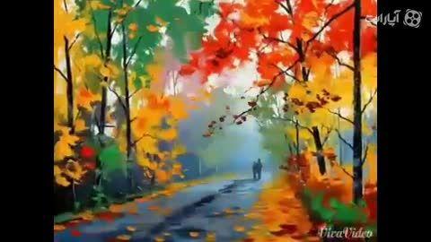 تصاویر رویایی و بسیار قشنگ از فصل پاییز+آهنگ فصل پاییز*