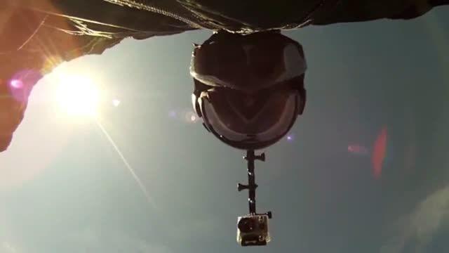 سلفی یک پرواز زیبا
