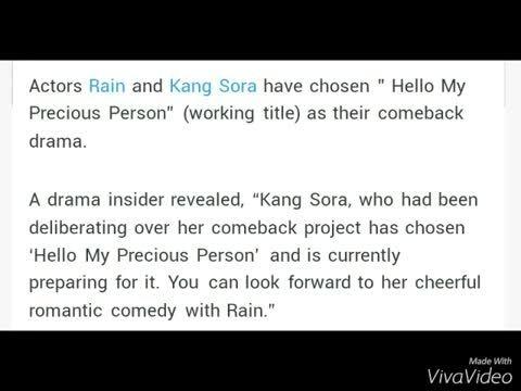 رین و کانگ سورا در سریالی جدید SBS