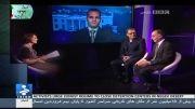 توهین مجری شبکه بی بی فارسی و جعلی خواندن کشور ایران