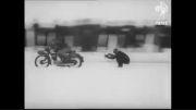 مسابقات اسکی با موتورسیکلت و اتومبیل