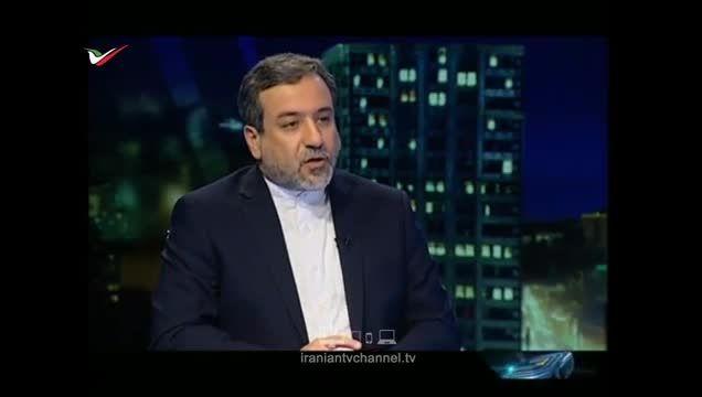 گفتگوی هسته ای عباس عراقچی در برنامه زنده