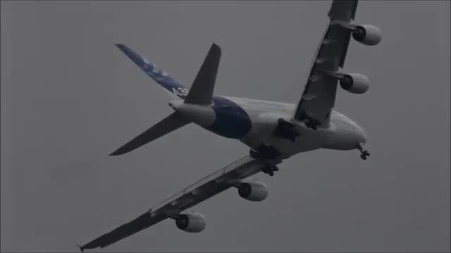 شگفت انگیزه، نمایش هوایی با A380 ✈