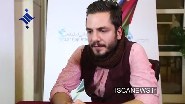 عباس غزالی :کاندید شدنم رو به پدرم تبریک گفتم