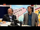 خنده بازار 25 - فرودگاه گریه محمد مایلی کهن و محمد فنایی