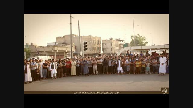 اعدام دو نفر توسط داعش در عراق-سوریه -عراق