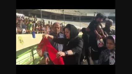 صحبت های همسر هادی نوروزی با هواداران