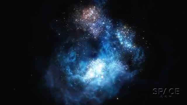 نشانه هایی از اولین ستارگان کیهان در یک کهکشان