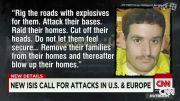 پیام صوتی داعش: در حال امادگی برای حمله به امریکا