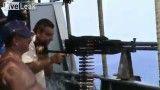 صحنه درگیری ناو روسیه با دزدان دریایی سومالی