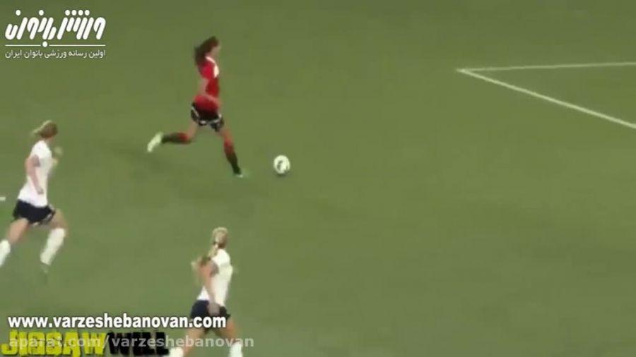 ستاره فوتبال زنان الکس مورگان