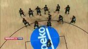 حرکت عجیب و غریب نیوزلند مقابل امریکا ؛ بسکتبال 2014