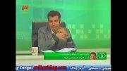 صحبت های علی دایی در مراسم بهترین بازیکن سال 2012 (18 دی ماه 1391) برنامه نود - بخش دوم