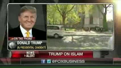 ترامپ: درِ مساجد آمریکا را تخته می کنم !