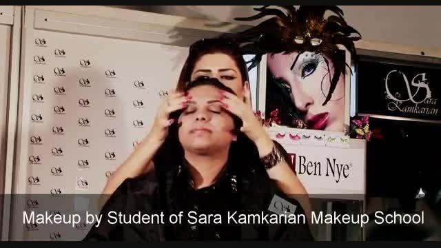 آموزش جدیدترین مدل آرایش عروس عربی و خلیجی2015
