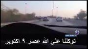 استقبال خانواده های عربستانی از رانندگی یک زن + فیلم
