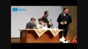 حمله به دانشجوی منتقد هنگام سخنرانی علی مطهری