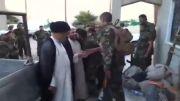 بازدید مجدد سید محمد طبابایی از مدافعین حرم