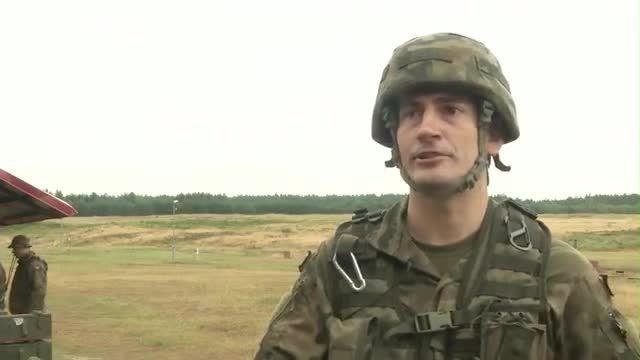آموزش شلیک RPG به سربازان آمریکایی توسط سربازان لهستانی