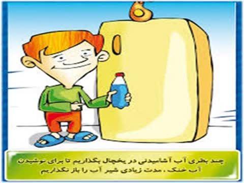 انیمیشن روش های صرفه جویی در مصرف آب