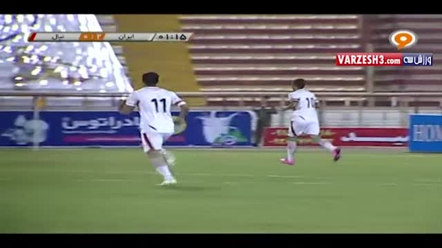 ایران 10-0 نپال