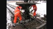 تعویض تراورس های راه آهن