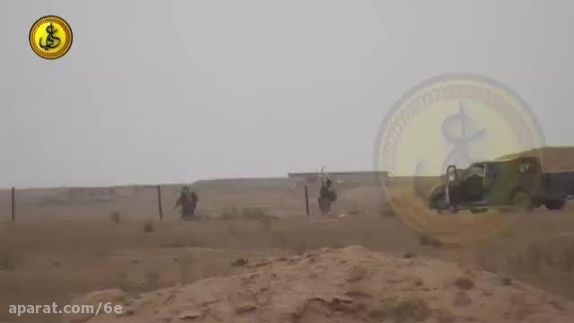 درگیری جانانه کتائب امام علی(ع) و داعش - کشتن دواعش