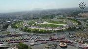 تصاویر هوایی از برج آزادی تهران